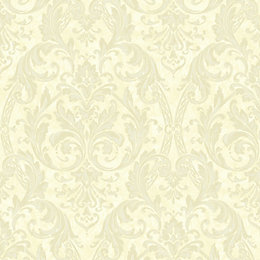 Arthouse Medici Latte Damask Wallpaper