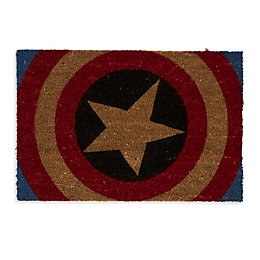 Marvel Red, Blue & Natural Captain America Coir