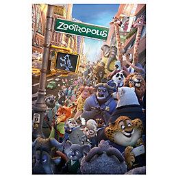 Zootropolis Multicolour Maxi Poster (W)61cm (H)91.5cm
