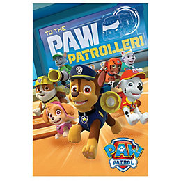 Paw Patrol to The Paw Patroller Multicolour Poster