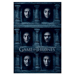 Game Of Thrones Hall Of Faces Multicolour Poster
