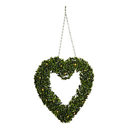 Smart Garden Pre-Lit Artificial Topiary Heart