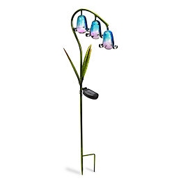 Smart Solar Blue Bluebell Solar Powered LED Decorative