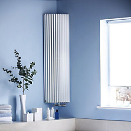 Jaga Iguana Circo Vertical Radiator White (H)1250 mm