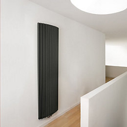 Jaga Iguana Arco Vertical Radiator Anthracite, (H)1800 mm