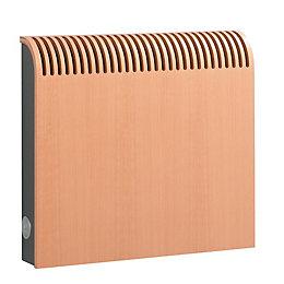 Jaga Knockonwood Horizontal Wooden Cased Radiator Beech Veneer,