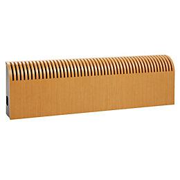 Jaga Knockonwood Wooden Cased Radiator Beech Veneer, (H)550