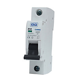 BG 50A MCB (Miniature Circuit Breaker)