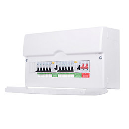 British General 100A 13-Way Metal Enclosure Consumer Unit