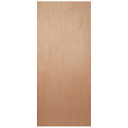 Flush Ply Veneer Internal Fire Door, (H)1981mm (W)610mm