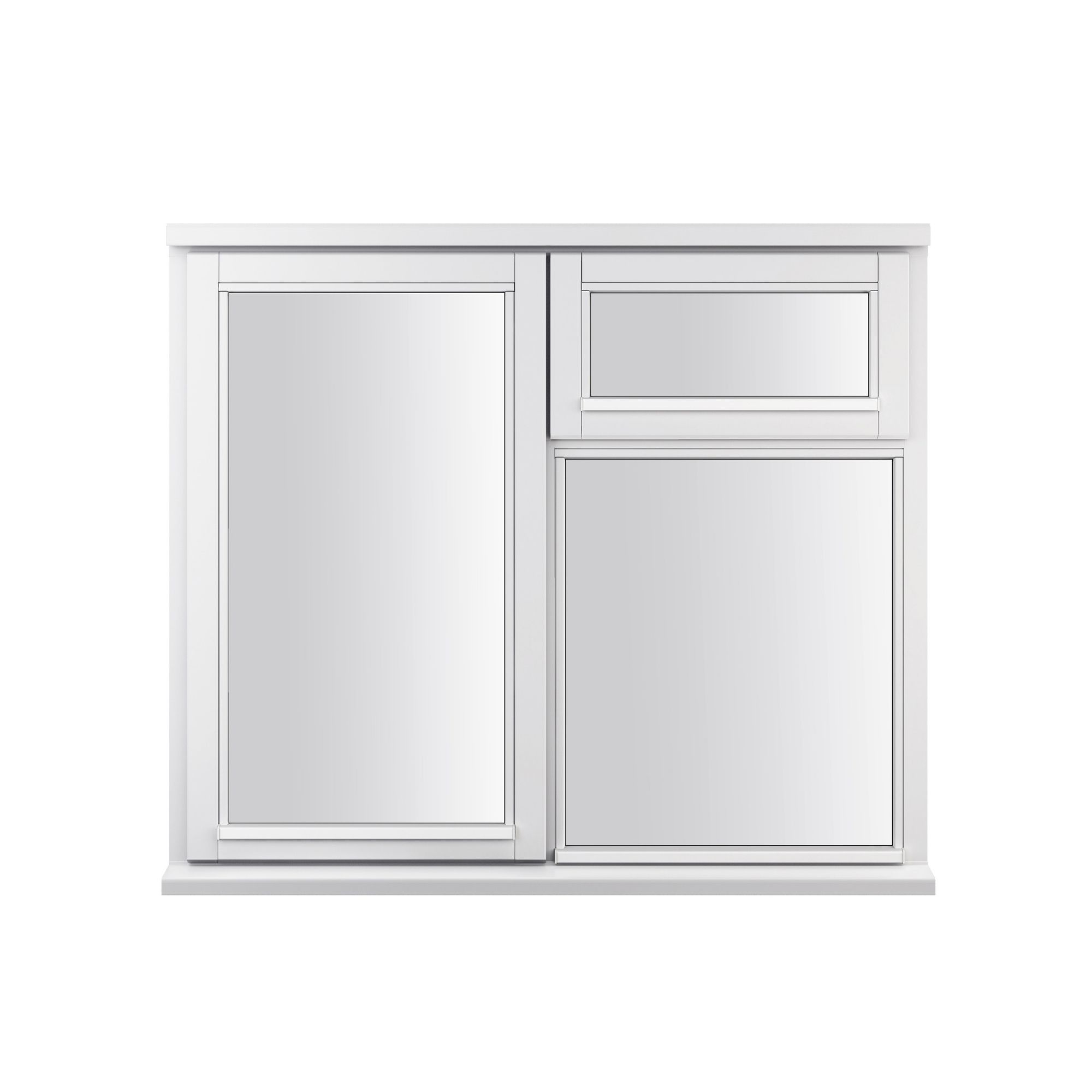 Double Hung Window Security Bar : Double glazed timber rh side hung top casement