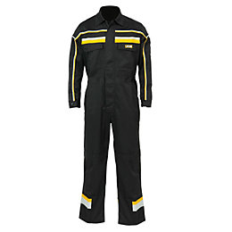 JCB Black Hollington Coverall Medium