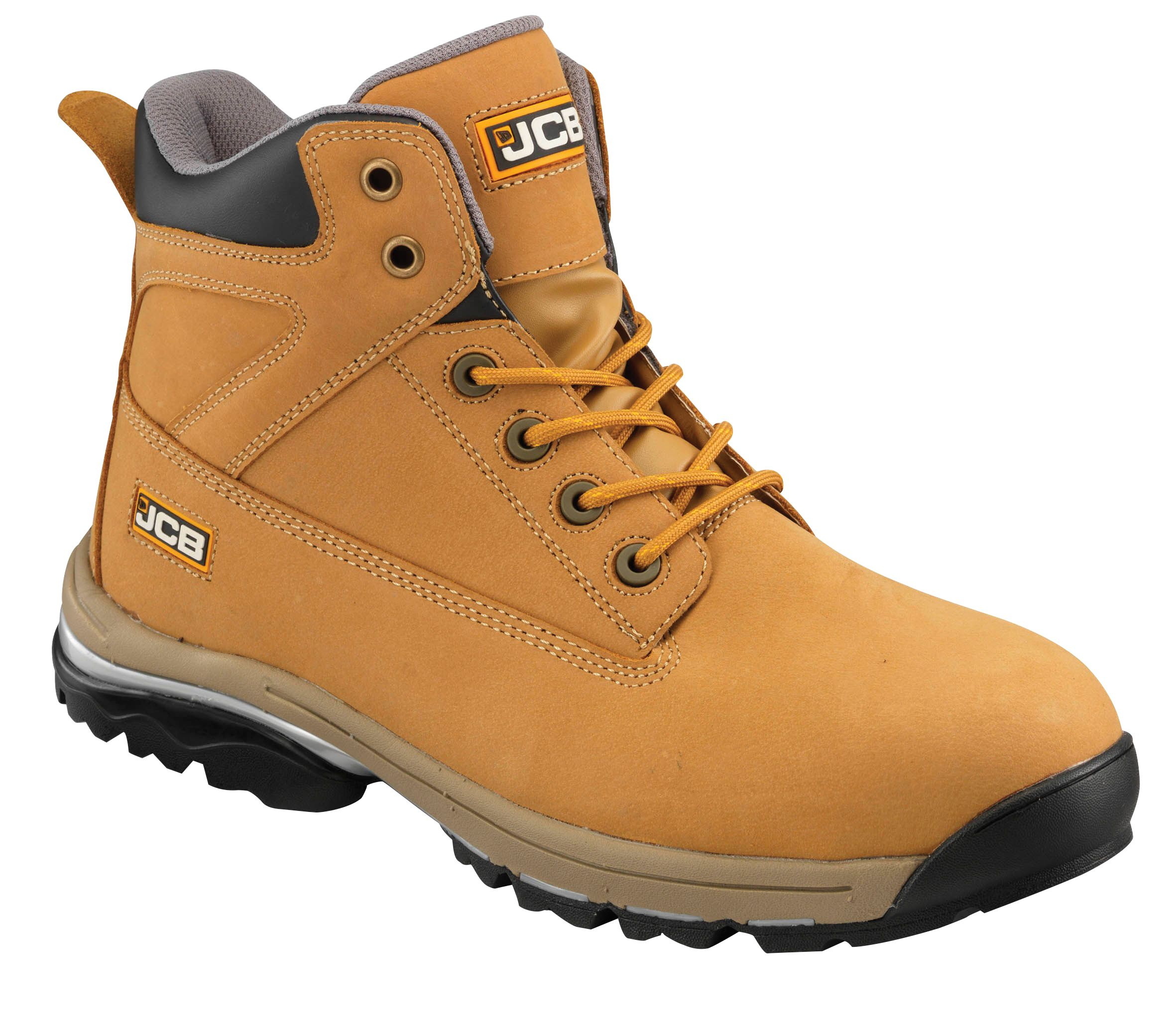 Jcb Honey Workmax Boots, Size 8