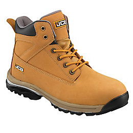 JCB Honey Nubuck Leather Steel Toe Cap Workmax