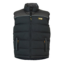 JCB Sudbury Black Bodywarmer Large