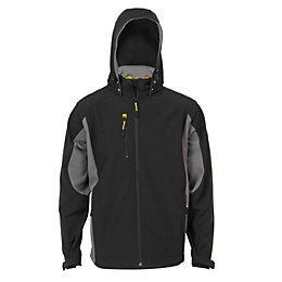 JCB Black Softshell Jacket Small