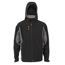 JCB Black Softshell Jacket XXL