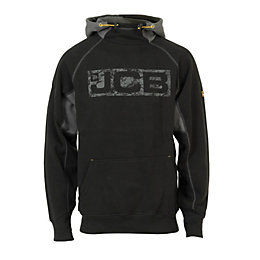 JCB Horton Black Hoodie XXL