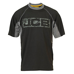 JCB Black Trentham T-Shirt Small