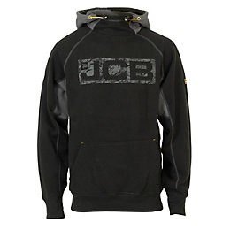 JCB Horton Black Hoodie Extra Large