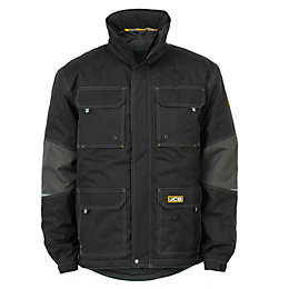 JCB Black Waterproof Coat 3XL