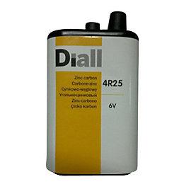 Diall 4R25 Zinc Carbon Battery