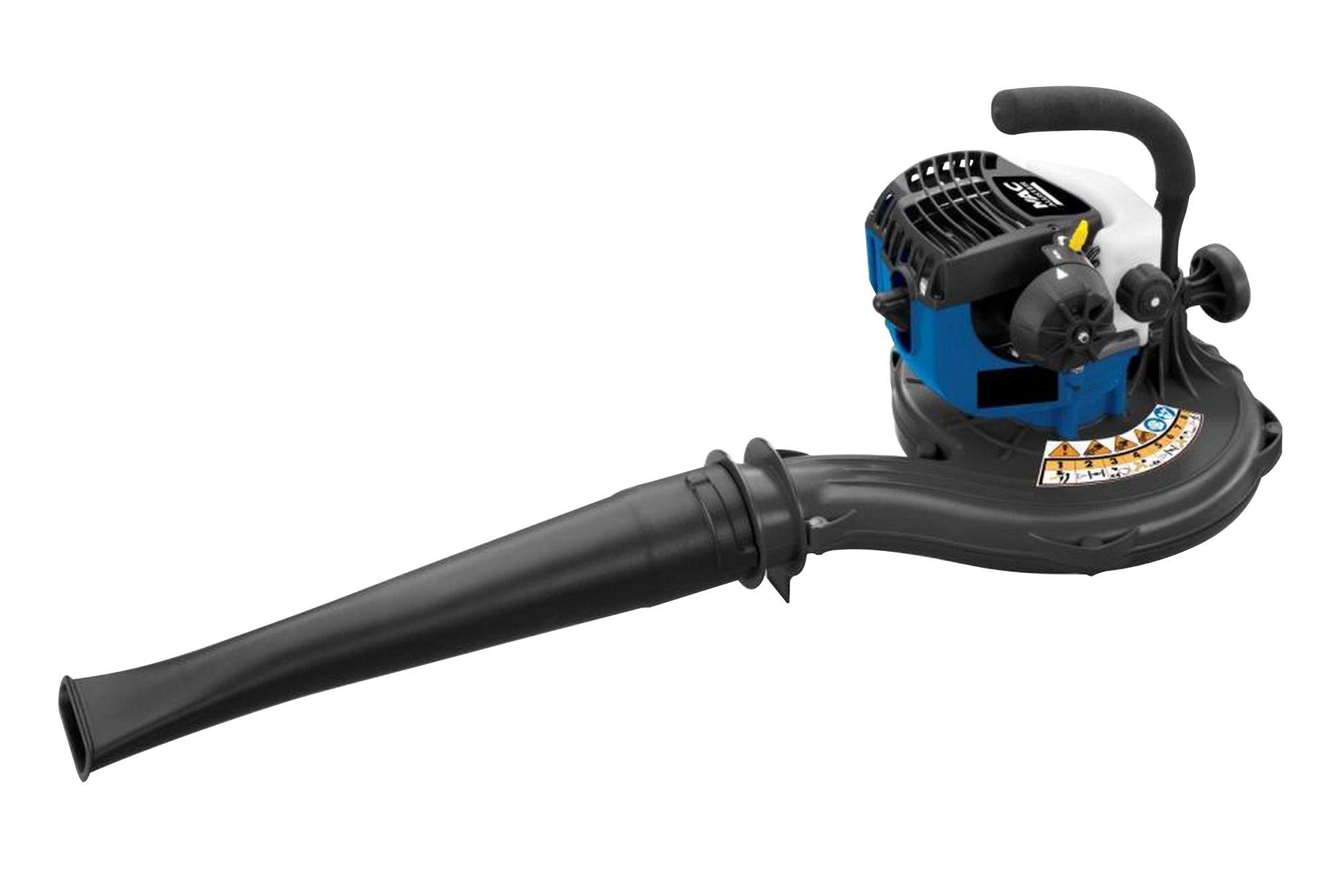 mac allister mbv260 26 cc petrol garden blower vacuum