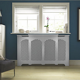Cambridge Adjustable Medium - Large White Painted Radiator