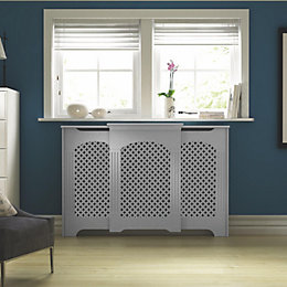 Cambridge Adjustable Small - Medium White Painted Radiator