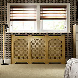 Cambridge Large Oak Veneer Radiator Cover