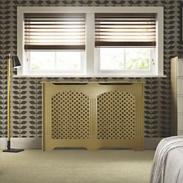 Cambridge Medium Oak Veneer Radiator Cover