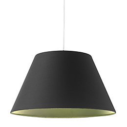 Colours Eos Black Light Shade (D)30.5cm