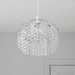 Colours Carbucca Clear Crystal Effect Beaded Spiral Light