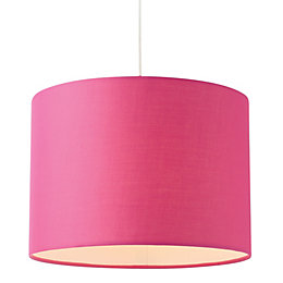 Colours Fairbank Fuchsia Drum Light Shade (D)28cm