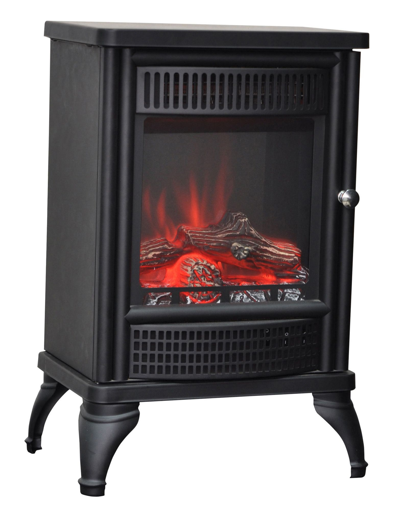 Blyss orebro black electric stove departments diy at b q for Kitchen and table orebro