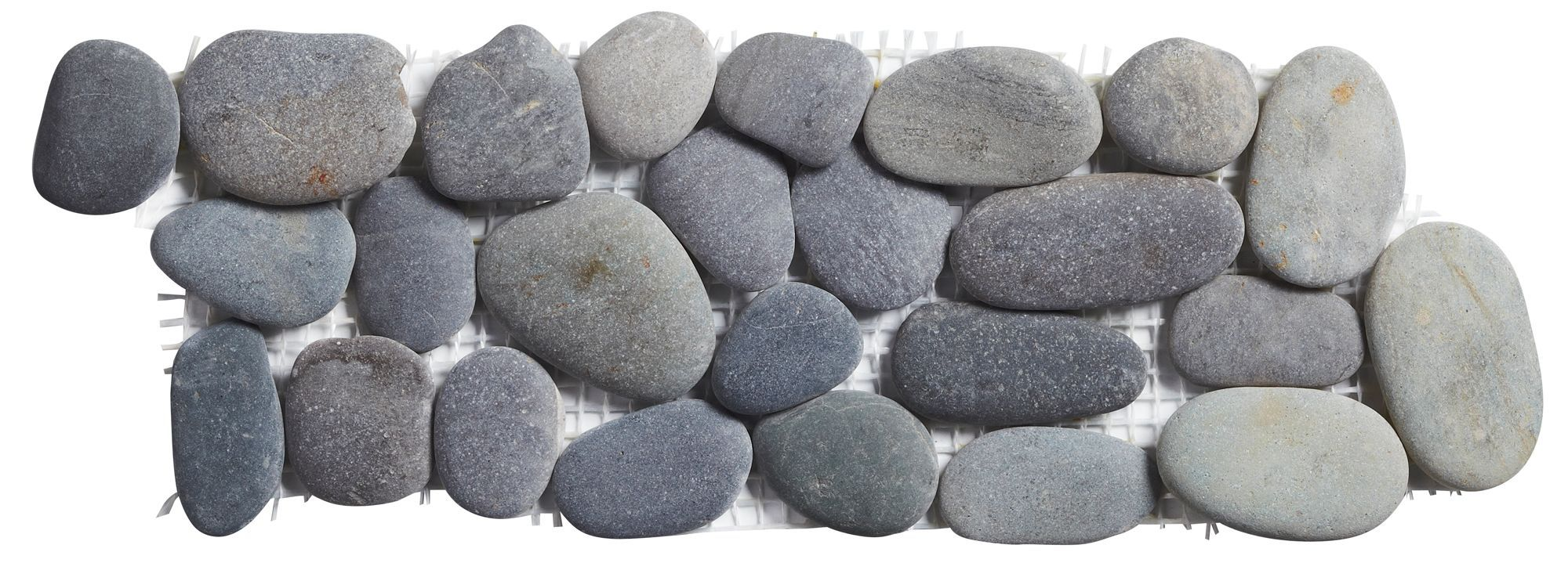 Pebble grey pebble ceramic border tile l300mm w100mm pebble grey pebble ceramic border tile l300mm w100mm departments diy at bq doublecrazyfo Gallery