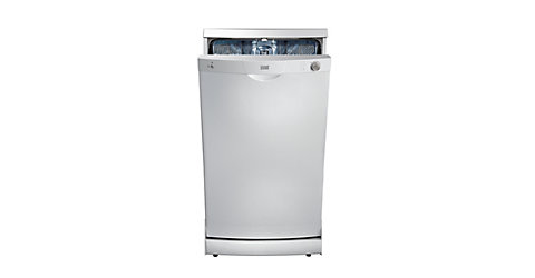 COOKE & LEWIS FREESTANDING SLIMLINE DISHWASHER WHITE