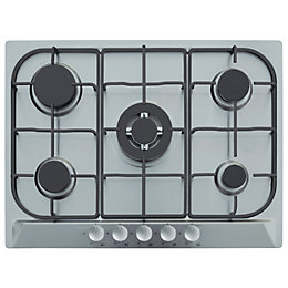 Cooke & Lewis CLGH1SS-C 5 Burner Cast Iron