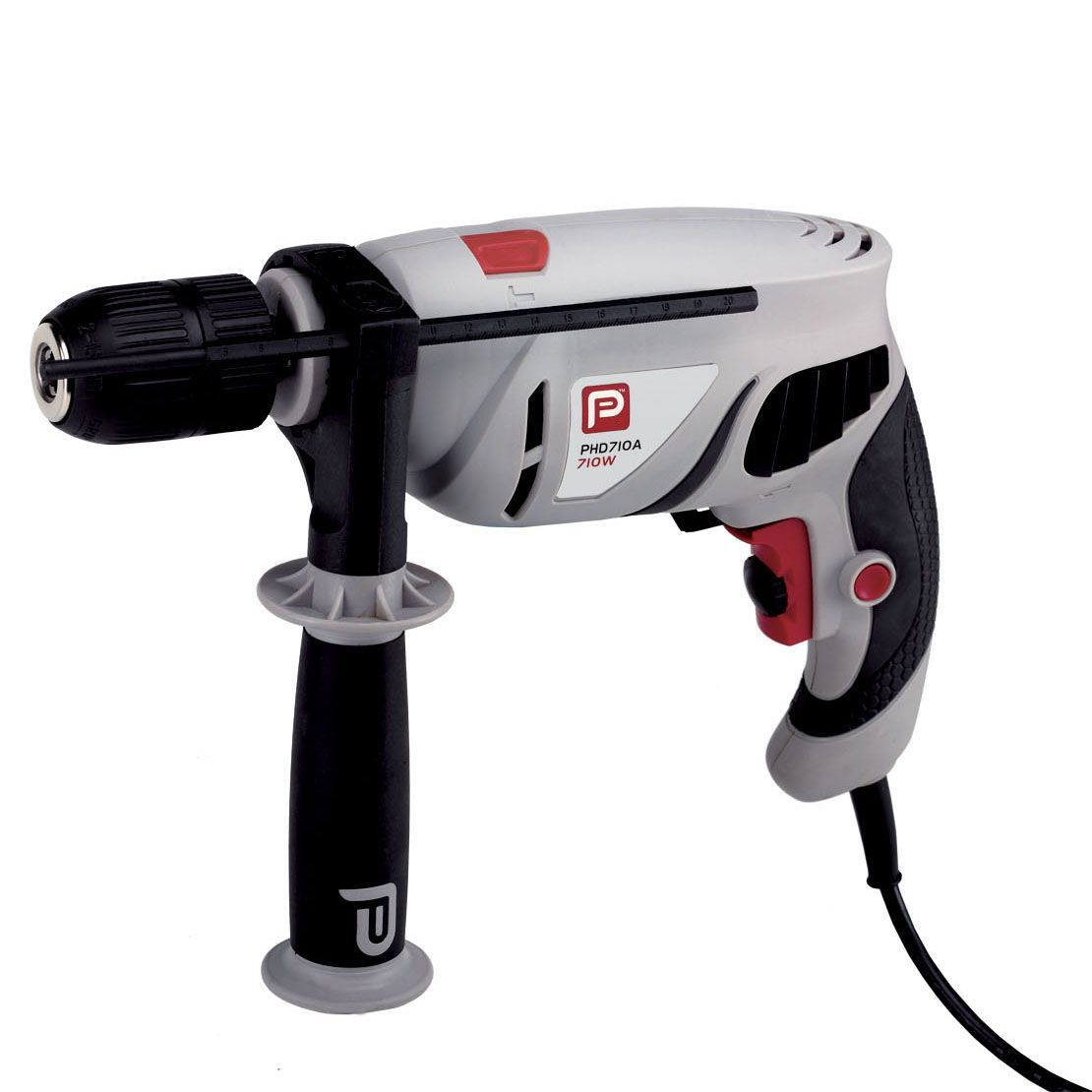 performance power corded 710w hammer drill departments. Black Bedroom Furniture Sets. Home Design Ideas