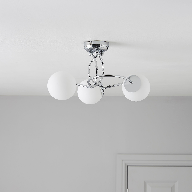 Bedroom Semi Flush Ceiling Light DIY