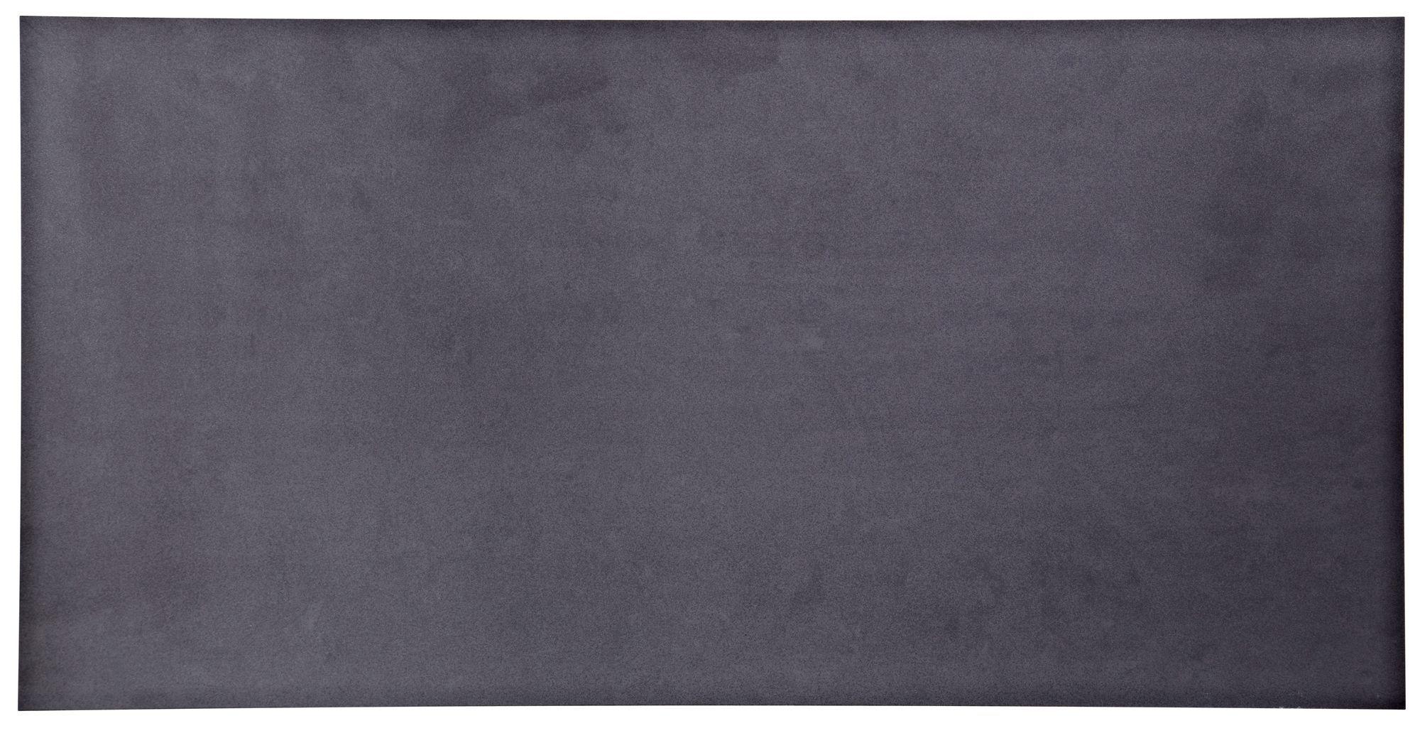 Lounge Black Porcelain Wall & Floor Tile, Pack Of 10, (l)600mm (w)300mm