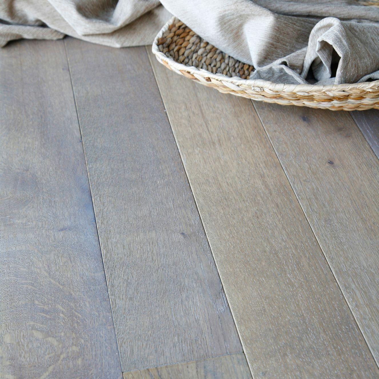 Colours Rondo Dove Grey Solid Oak Flooring Oak Effect 1.12 M² Pack