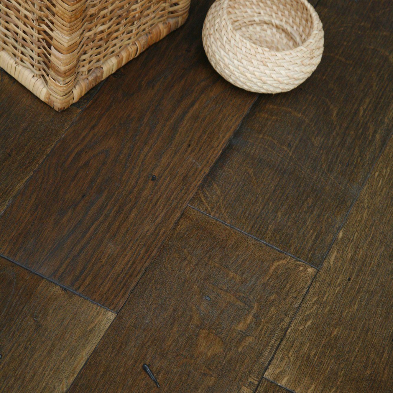 Colours Rondo Antico Solid Oak Flooring Oak Effect 1.17m² Pack