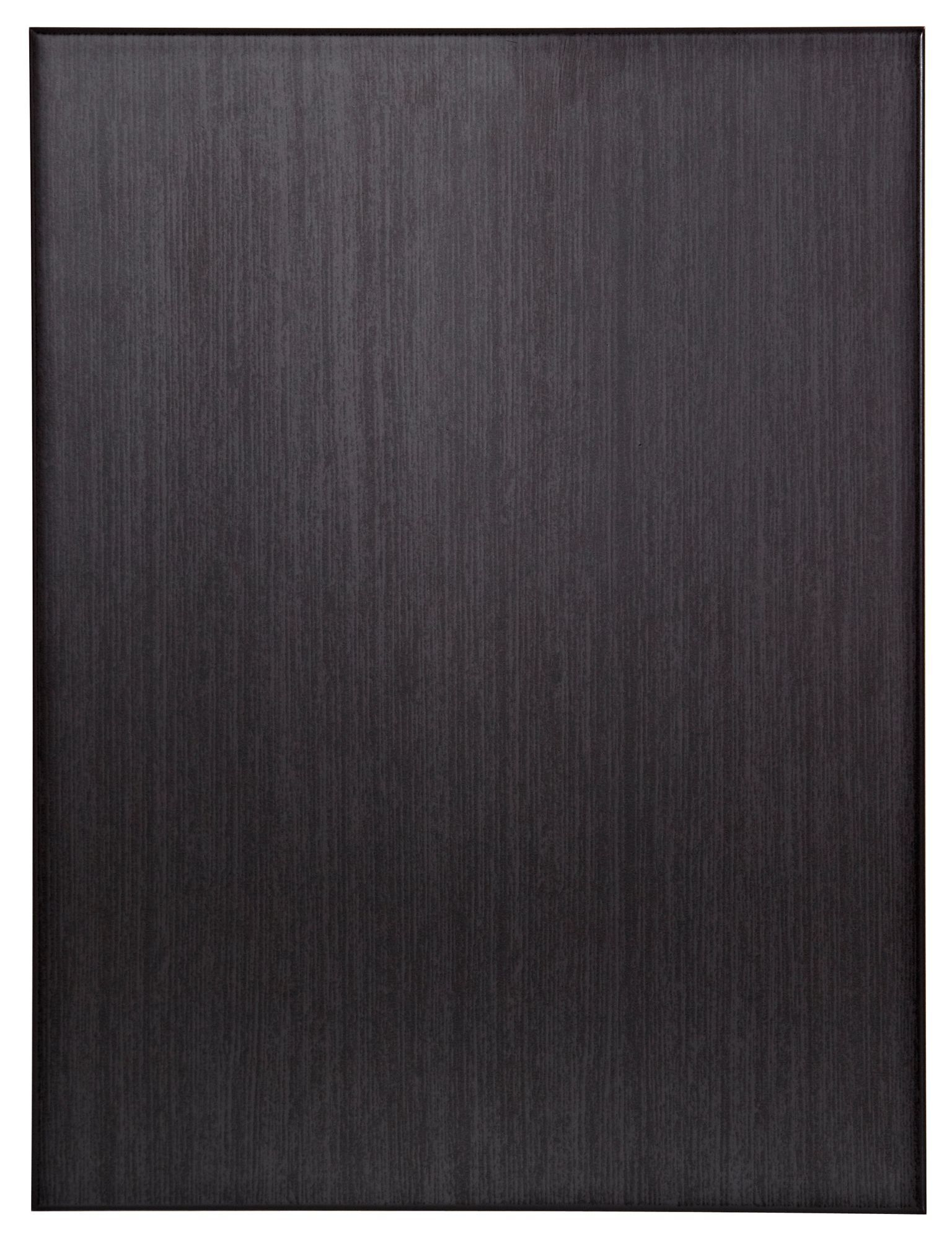 Charcoal Meloni Ceramic Wall Tile, Pack Of 6, (l)330mm (w)250mm