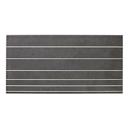 Enviro Smoke Scored Ceramic Wall Tile, Pack of