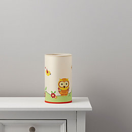 Oratory Owl Multicolour Table Lamp