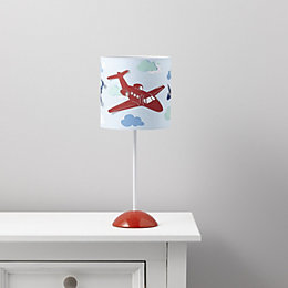Revolutio Aeroplane Blue Table Lamp