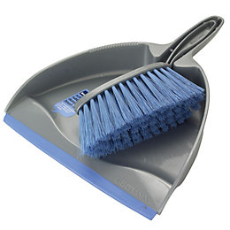 B&Q Dustpan & Soft Brush