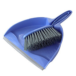 B&Q Dustpan & Stiff Brush