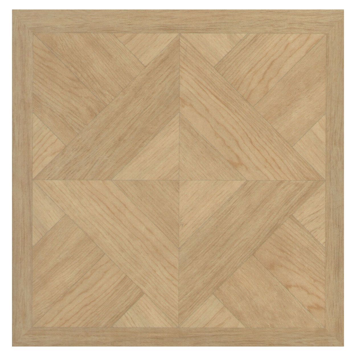 Colours Aceros Wood Effect Self Adhesive Vinyl Tile Pack 1